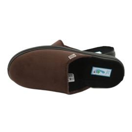 Befado obuwie męskie  pu 132M009 brązowe 5