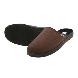 Befado obuwie męskie  pu 132M009 brązowe 4