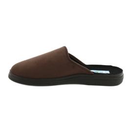 Befado obuwie męskie  pu 132M009 brązowe 2