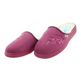Befado obuwie damskie  pu 132D014 różowe 2