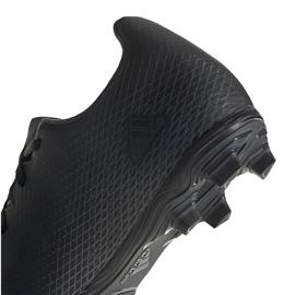 Buty piłkarskie adidas X Ghosted.4 FxG EG8195 czarne czarne 4