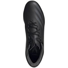 Buty piłkarskie adidas X Ghosted.4 FxG EG8195 czarne czarne 1