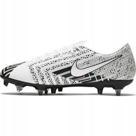 Buty piłkarskie Nike Mercurial Vapor 13 Academy Mds SG-PRO Ac CJ9986 110 białe białe 3