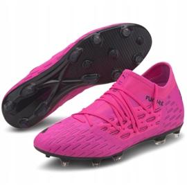 Buty piłkarskie Puma Future 6.3 Netfit FG/AG M 106189 03 fioletowe wielokolorowe 3