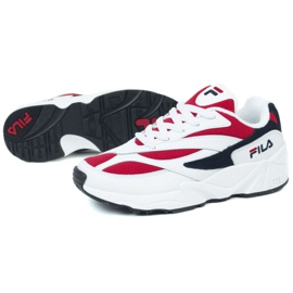 Buty Fila V94M Low W 1010291-150 białe czarne czerwone 1
