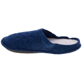 Kapcie Crocs Classic Slipper 203600-4GD niebieskie 1
