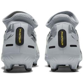 Buty piłkarskie Nike Phantom Gt Scorpion Academy Dynamic Fit FG/MG M DA2266 001 srebrny niebieskie 4