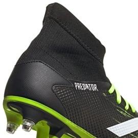 Buty piłkarskie adidas Predator 20.3 Sg M EH2904 czarne wielokolorowe 4