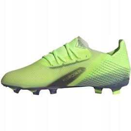 Buty piłkarskie adidas X Ghosted.1 Fg Junior zielone EG8180 2