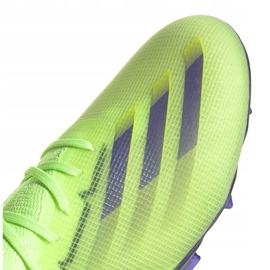 Buty piłkarskie adidas X Ghosted.1 Fg Junior zielone EG8180 3