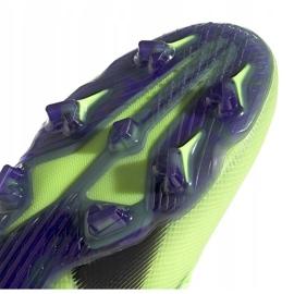 Buty piłkarskie adidas X Ghosted.1 Fg Junior zielone EG8180 5