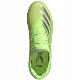 Buty piłkarskie adidas X Ghosted.1 Fg Junior zielone EG8180 1