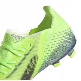 Buty piłkarskie adidas X Ghosted.1 Fg Junior zielone EG8180 4