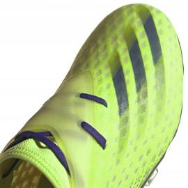 Buty piłkarskie adidas X Ghosted.2 Fg zielone EG8187 3