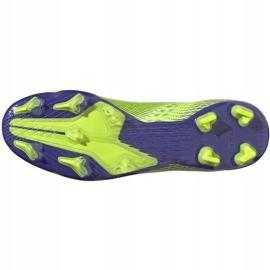 Buty piłkarskie adidas X Ghosted.2 Fg zielone EG8187 6