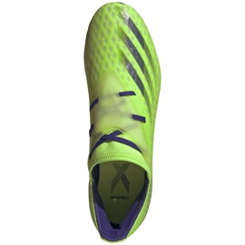 Buty piłkarskie adidas X Ghosted.2 Fg zielone EG8187 1