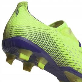 Buty piłkarskie adidas X Ghosted.2 Fg zielone EG8187 4