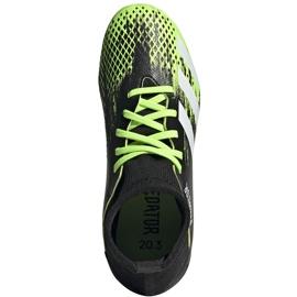 Buty piłkarskie adidas Predator 20.3 Fg Junior czarno-zielone EH3024 1