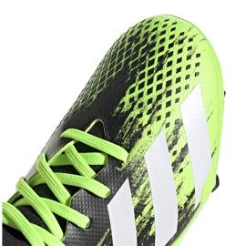 Buty piłkarskie adidas Predator 20.3 Fg Junior czarno-zielone EH3024 3