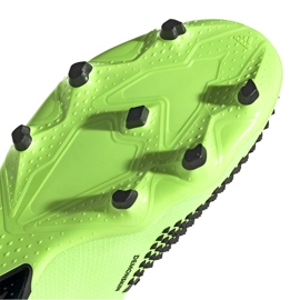 Buty piłkarskie adidas Predator 20.2 Fg zielono-czarne EH2932 zielone zielone 6