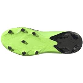 Buty piłkarskie adidas Predator 20.2 Fg zielono-czarne EH2932 zielone zielone 7
