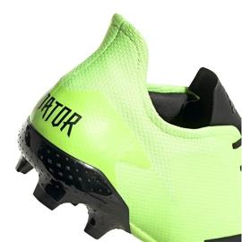 Buty piłkarskie adidas Predator 20.2 Fg zielono-czarne EH2932 zielone zielone 5