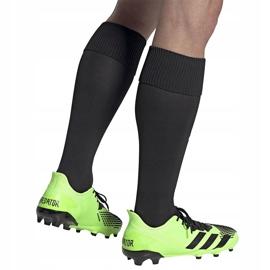 Buty piłkarskie adidas Predator 20.2 Fg zielono-czarne EH2932 zielone zielone 3