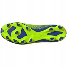 Buty piłkarskie adidas X Ghosted.4 FxG zielone EG8194 5