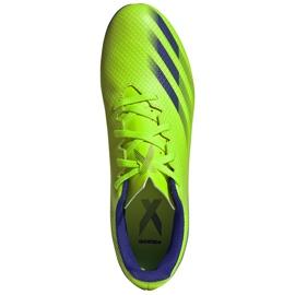 Buty piłkarskie adidas X Ghosted.4 FxG zielone EG8194 1