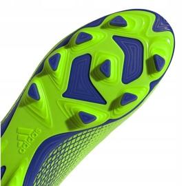 Buty piłkarskie adidas X Ghosted.4 FxG zielone EG8194 4