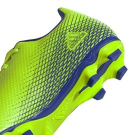 Buty piłkarskie adidas X Ghosted.4 FxG zielone EG8194 3