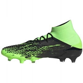 Buty piłkarskie adidas Predator Mutator 20.1 Fg czarno-zielone EH2892 2