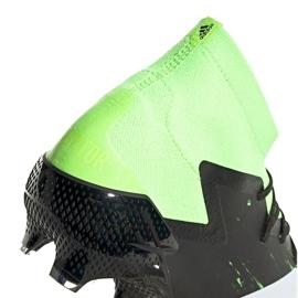 Buty piłkarskie adidas Predator Mutator 20.1 Fg czarno-zielone EH2892 5