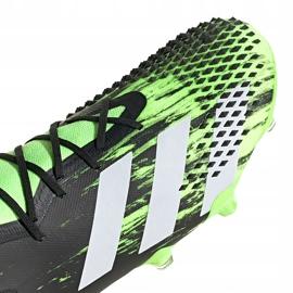 Buty piłkarskie adidas Predator Mutator 20.1 Fg czarno-zielone EH2892 3