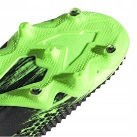 Buty piłkarskie adidas Predator Mutator 20.1 Fg czarno-zielone EH2892 6