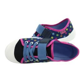 Befado obuwie dziecięce 251Y162 niebieskie różowe wielokolorowe 5