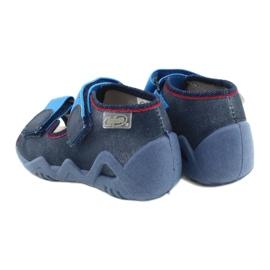 Befado żółte obuwie dziecięce 350P015 granatowe niebieskie 5