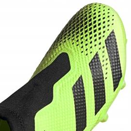 Buty piłkarskie adidas Predator 20.3 Ll Fg zielono-czarne EH2929 zielone zielone 3