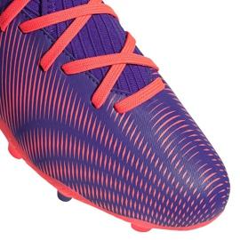 Buty piłkarskie adidas Nemeziz.3 Fg Junior fioletowe EH0580 3