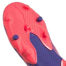 Buty piłkarskie adidas Nemeziz.3 Fg Junior fioletowe EH0580 5