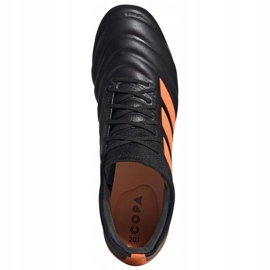Buty piłkarskie adidas Copa 20.1 Fg M EH0882 wielokolorowe czarne 2