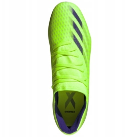 Buty piłkarskie adidas X Ghosted.3 Sg M EG8176 zielone wielokolorowe 2