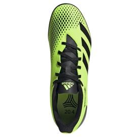 Buty piłkarskie adidas Predator 20.4 Tf M EH3002 wielokolorowe zielone 1
