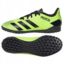 Buty piłkarskie adidas Predator 20.4 Tf M EH3002 wielokolorowe zielone 2