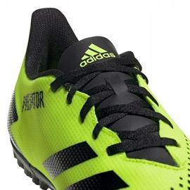 Buty piłkarskie adidas Predator 20.4 Tf M EH3002 wielokolorowe zielone 3