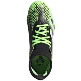 Buty piłkarskie adidas Predator 20.3 Tf Jr EH3034 wielokolorowe czarne 1