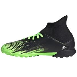 Buty piłkarskie adidas Predator 20.3 Tf Jr EH3034 wielokolorowe czarne 2