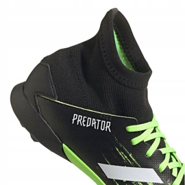 Buty piłkarskie adidas Predator 20.3 Tf Jr EH3034 wielokolorowe czarne 4