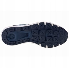 Buty Under Armour Charged Rogue 2 M 3022592-403 białe granatowe 3