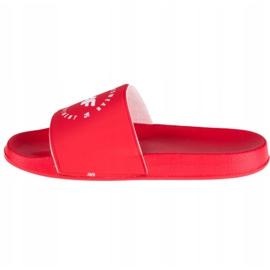 Klapki 4F Thongs H4Z20-KLD001 62S białe czerwone 1